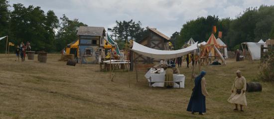 les journées médiévales et spectacle interactif des médiévales de Machecoul par Rais Création en Loire Atlantique 44